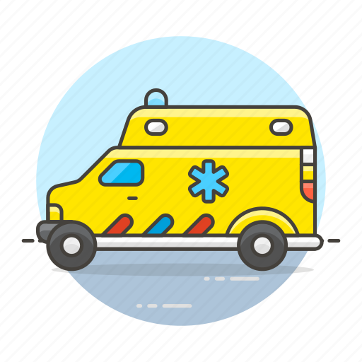 ambulance, car, clinic, cross, emergencies, health, hospital, medical, paramedic, red, vehicle icon