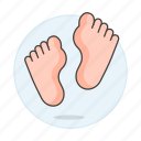 2, chiropody, condition, feet, foot, health, medical, podiatry, specialties icon