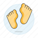 chiropody, condition, feet, foot, health, medical, podiatry, specialties icon
