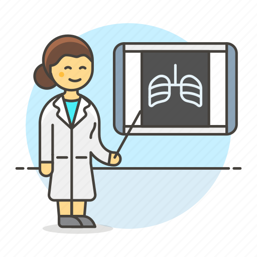 2, diagnose, doctor, examination, female, film, health, monitoring, radiography, ray, viewer icon