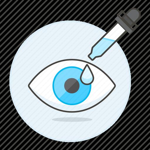 care, dropper, eye, health, medication, ocular, ophthalmology, treatment icon