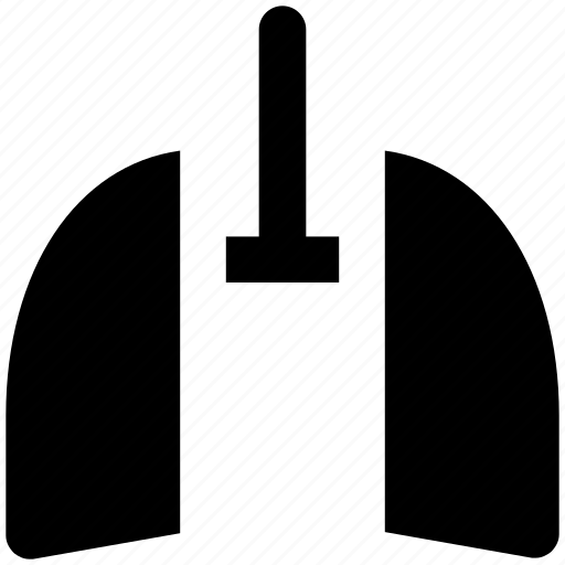 asthma, breathing, gills, human organ, lungs, lungs symbol, respiratory system icon
