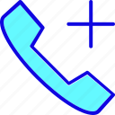 call, emergency, health, healthcare, hospital, medical, service icon