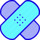care, drug, health, healthcare, medical, medicine, plester icon