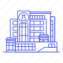 building, health, laboratory, hospital, scientific, research, chemistry, medical, science icon