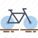 bike, cycle, fitness, health, pedal, ride icon