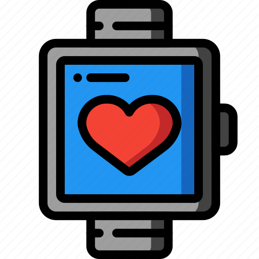 bpm, fitness, health, heart, rate, tech, watch icon