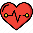 bpm, fitness, health, heart, monitor, rate icon