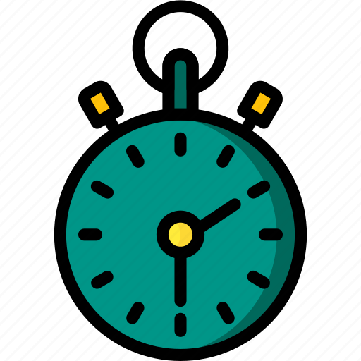 clock, fitness, health, stop, timed, watch icon