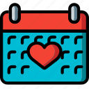 calendar, fitness, health, schedule icon