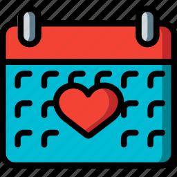 calendar, fitness, health, schedule icon