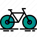 bike, cycle, fitness, health, spin, track icon