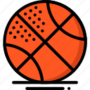 ball, basketball, fitness, health, sports icon