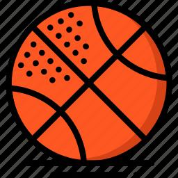 ball, basketball, fitness, health, sports icon