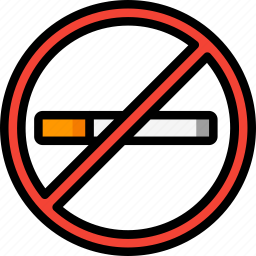 cigerettes, fags, fitness, health, no, quit, smoking icon