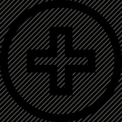 health, hospital, logo, medical icon
