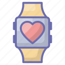 fitness band, fitness tracker, heart watch, pulsometer, smart band, smart bracelet, smartwatch icon