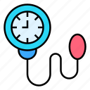 meter, sphygmomanometer, apparatus, monitor, bp icon