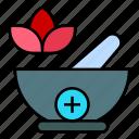 mortar, bowl, medicine, pharmacy, pharmacist