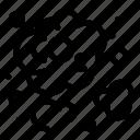 carbon, co2, dioxide icon
