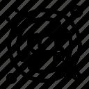 co2, disable, gas, pollution icon