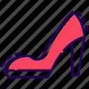 fashion shoes, high heels, ladies footwear, ladies high heels, mary janes icon