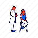 blood pressure, doctor, physician icon