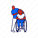 disabled, patient, wheelchair