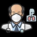 asian, coronavirus, male, n-95 mask, pulmonologist