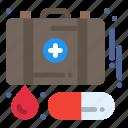 aid, case, emergency, first, medicine