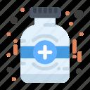 bottle, medical, medicine