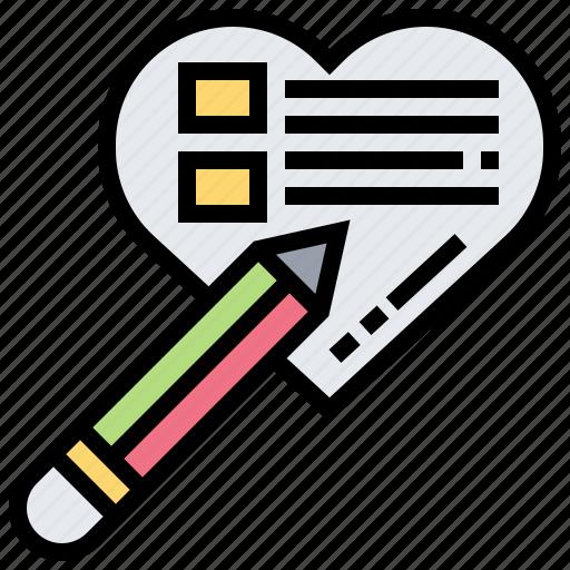 checklist, form, healthcare, plan, prescription icon