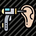 diagnosis, ear, examination, hearing, otoscopes
