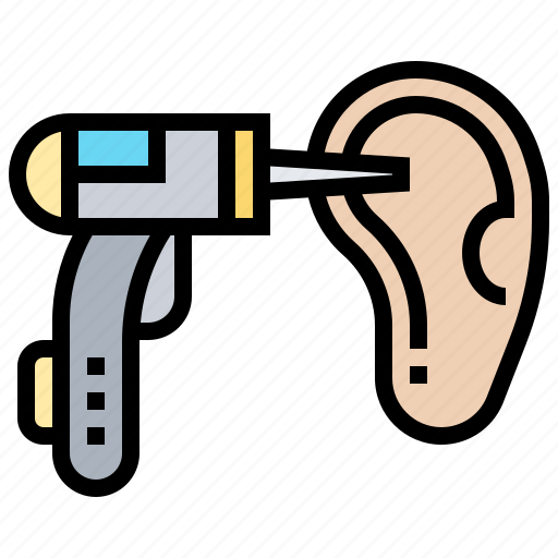 diagnosis, ear, examination, hearing, otoscopes icon