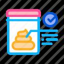 checkup, feces, health, healthcare, list, test, vitro