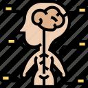 somatic, nervous, system, peripheral, sensory icon