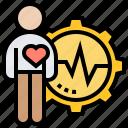 cardio, ekg, heart, monitor, pulse