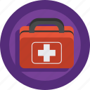 aid, doctor, first aid, first aid kit, guardar, heal, health, help, hospital, kit, medical, save icon