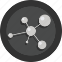 gene, health, molecule, research, science icon