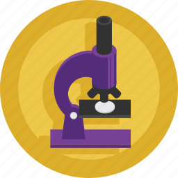 chemistry, doctor, hospital, medical, microscope, research, science icon