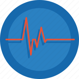 beat, blood pressure, doctor, health, heart, heartbeat, hospital, monitor icon