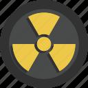 biohazard, danger, dangerous, radioactive, toxic icon