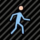running, walking, fitness