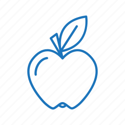apple, diet, food, fruit, healthy icon