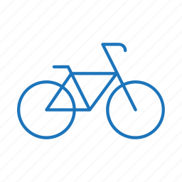 bicycle, bike, biking, cycling, exercise, riding icon