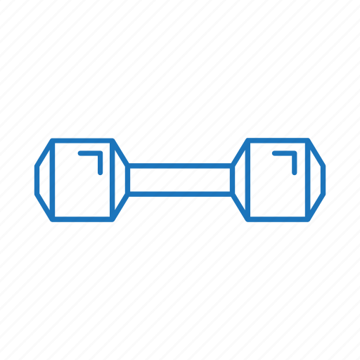 dumpbell, exercise, fitness, weight, weightlifting, work out icon