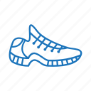 fitness, running, shoes, sneakers, sport, trainers icon