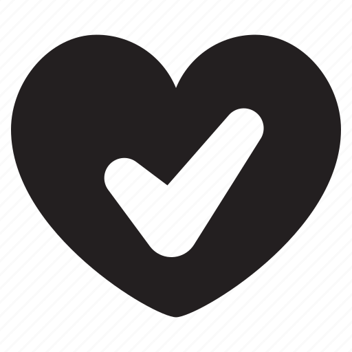 checkmark, diet, food, health, healthy, heart icon