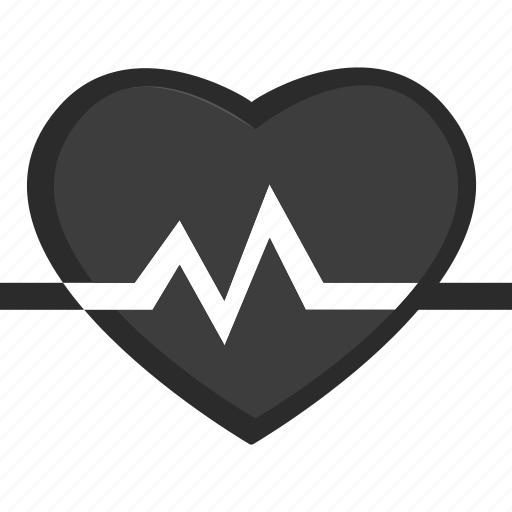 fitness, health, heart rate, pulse icon