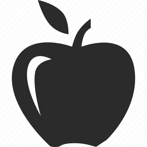 apple, food, fruit, health, nutrition icon